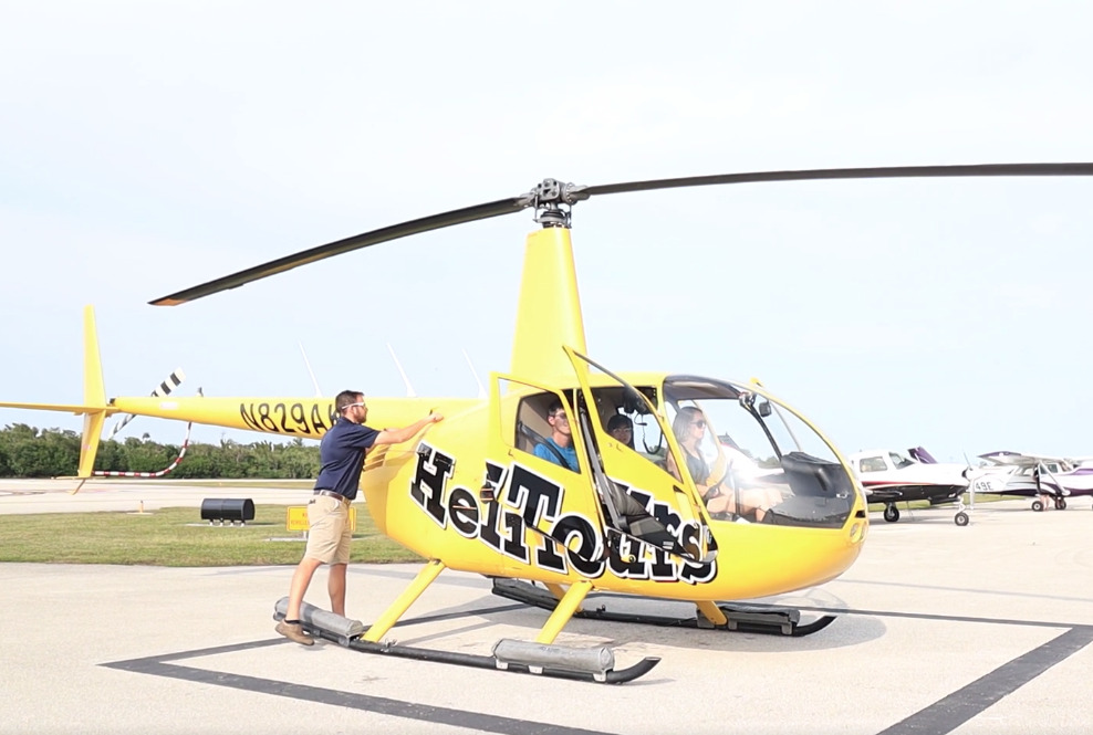 florida keys helicopter